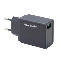 CARREGADOR ECOPOWER UNIVERSAL - 1 USB - EP-7066 - 3.0 AMP