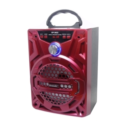 SPEAKER ECOPOWER EP-3822 - USB - CARTAO TF - RADIO FM - BLUETOOTH