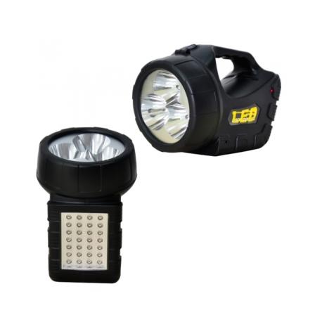 LANTERNA VOYAGER LED - RECARREGAVEL - VL-3403LX-A - 31 LEDS - BIVOLT
