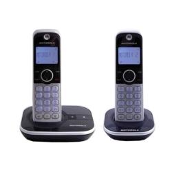 TELEFONE MOTOROLA GATE4800R-2 - BINA - 2 TELEFONES - BIVOLT - PRETO