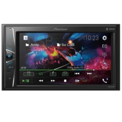 RADIO CAR PIONEER MVH-G215BT - USB - BLUETOOTH - 6.2 POLEGADAS