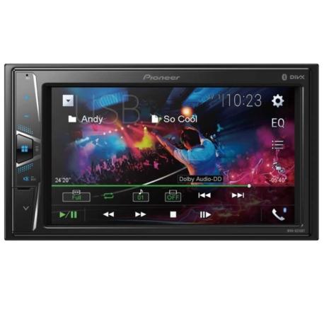 RADIO CAR PIONEER MVH-G215BT - USB - BLUETOOTH - 6.2 POLEGADAS