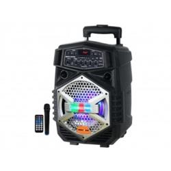 SPEAKER MEGASTAR SPA-087 - USB - MICROFONE - BLUETOOTH - 8 POLEGADAS
