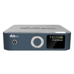 RECEPTOR SATELITE DUOSAT TROY PLATINUM - HD - IPTV