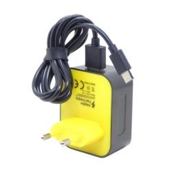 CARREGADOR ONLY - 1 USB - BIVOLT - TIPO C - 3.1A