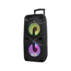 SPEAKER SATELLITE AS-6124 - 2 MICROFONE - 2 SUB DE 10 POLEGADAS - BLUETOOTH