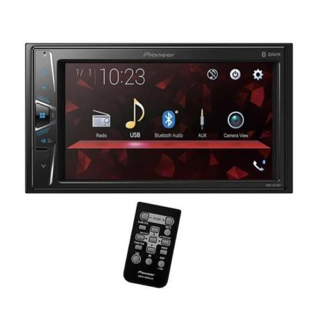 RADIO CAR PIONEER DMH-G225BT - USB - BLUETOOTH - CONTROLE