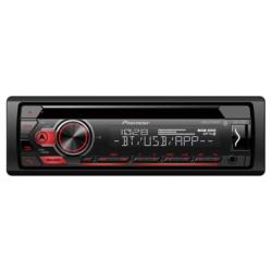 TOCA CD PIONEER - DEH-S31BT - USB - BLUETOOTH - 2 RCA - MIXTRAX - SEM CONTROLE