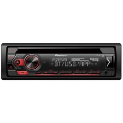 TOCA CD PIONEER DEH-S320BT - BLUETOOTH - USB - ANDROID - SEM CONTROLE