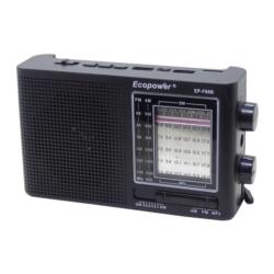 RADIO ECOPOWER EP-F86 - BATERIA - USB - SD - BIVOLT - SOLAR
