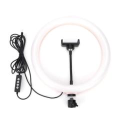 LAMPADA LED FOTOGRAFICA - RK40 - 10.5 POLEGADAS - PRETO
