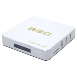 ANDROID TV BOX R90 - 4K ULTRA - 2GB RAM - 16GB MEMORIA - 8.1 - BRANCO