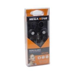 FONE MEGASTAR HP-V359 - BOLINHA SILICONE - COM MICROFONE