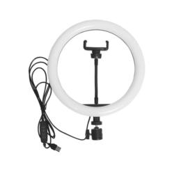 ARO SATELLITE LED A-MK04 - TRIPODE RING LIGHT - 10 PULGADAS