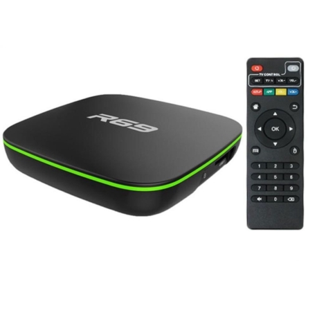 ANDROID TV BOX R69 8K ULTRA HD 4GB RAM - 32GB MEMORIA