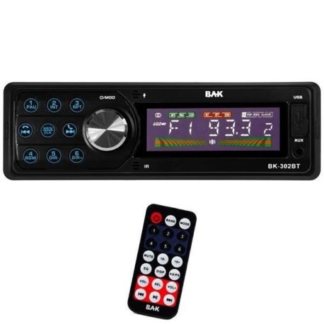 RADIO CAR BAK BK-302BT - MP3/USB/BT