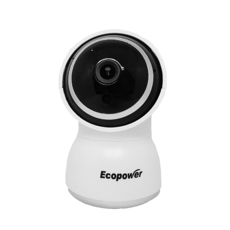 CÂMERA IP ECOPOWER EP-C011 HD 1080MP WIFI/BRANCO