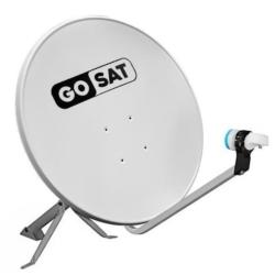 ANTENA P/ RECEPTOR GOSAT AVS-60 C/LNB