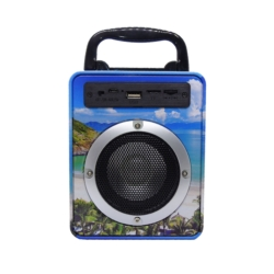 SPEAKER MINI EWTTO ET-P1913B USB/SD/FM/BLUETOOTH