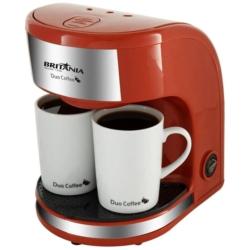 CAFETEIRA BRITANIA DUO COFFE RED 110V