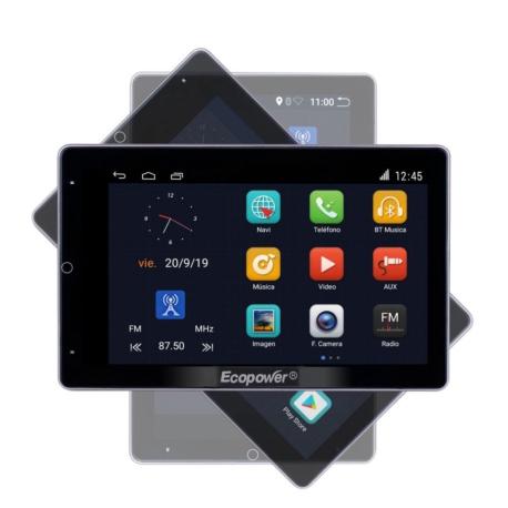 RADIO CAR ECOPOWER EP-8712 BT/USB/GPS/WIFI - 10 POLEGADAS