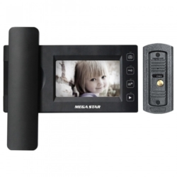 VIDEO PORTEIRO MEGASTAR DP437 COLOR 4.5""
