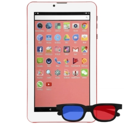 """TABLET IPRO 7"""" SPEED-II 16GB/2-CHIP/ RED"""