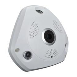 CAMERA IP SMART VR CAM 3D WIFI/360°/TF - BRANCO