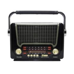 RADIO SOLAR ECOPOWER EP-F221B RECARREGÁVEL/USB/SD/BL