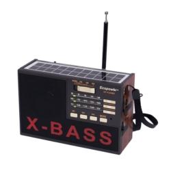 RADIO SOLAR ECOPOWER EP-F220B RECARREGÁVEL/USB/SD/BL