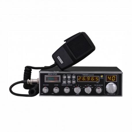 RADIO PX MEGASTAR MG-990TW DIGITAL - 271 CANAIS