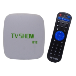 ANDROID TV BOX TV SHOW B12 4K/S/CANAL
