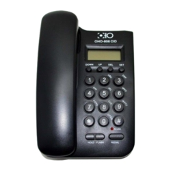 TELEFONE OHO COM FIO OHO-806CID BINA