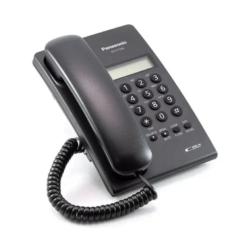 TELEFONE PANASONIC KX- T7703X /BINA/PRETO COM FIO