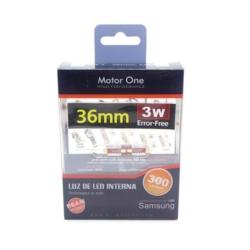 LAMPARA AUTOMOTIVA LED DE TECHO M1 36MM M1 3W