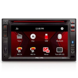 "DVD CAR PHILIPS CED-1500 6.2"" USB/BLUETOOTH"