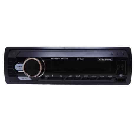 RADIO CAR ECOPOWER EP-622 USB/SD/FM/BLUETOOTH