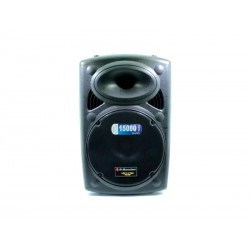 "SPK B-BOMBER BM-W15 15P""/1MIC/BLT/SD/USB"