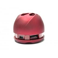 SPEAKER BAK BK-S202 - SD-USB-VERMELHO-PEQUENA
