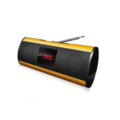 SPEAKER BAK BK-S235 FM SD USB DOURADO