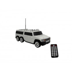 SPEAKER BAK BK-S251 HAMMER BRANCO USB SD FM C/CONTROLE