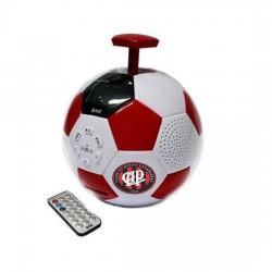 SPEAKER BAK BK-S257 BOLA FM/SD/USB VERMELHO C/BRANCO