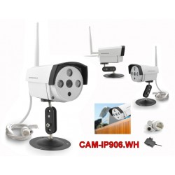 CAMERA IP POWERPACK - CAM-IP906 - WIFI - A PROVA DE AGUA