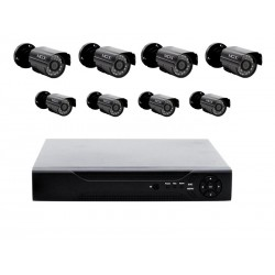KIT DVR MOX - MO-KIT801D - 8 CAMERAS EXTERNAS