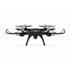 DRONE QUANTA QTPDC2050 - CAMERA - WIFI - CONTROLE - PRETO