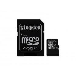 MEM SD MICRO KINGST 2EM1 16GB