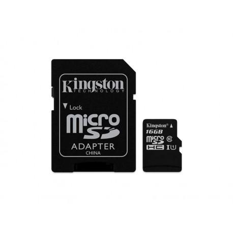 MEMORIA SD MICRO KINGST 2EM1 16GB