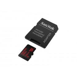 MEMORIA CLASS 10 - MICRO SD SANDISK - 125GB - 80MB/S