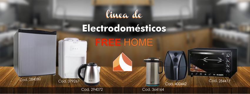 Electrodomesticos Free Home